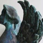 Blue Green Angel, 2013 (detail)
