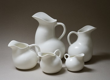 Clunes Ceramic Award - Winner 2015 -   Vesssel and Spoon - by Prue Venables